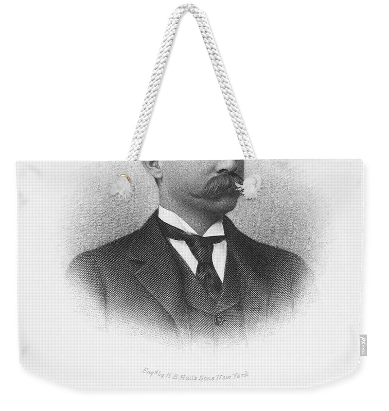 19th Century Weekender Tote Bag featuring the photograph Frederick Fanning Ayer by Granger