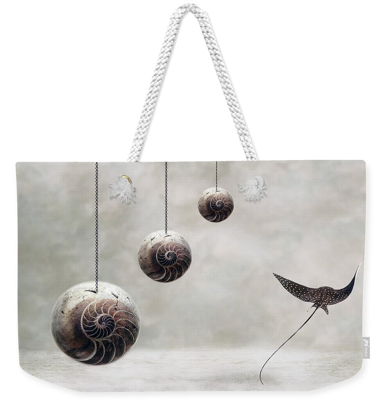 Surrealism Weekender Tote Bag featuring the photograph Free by Jacky Gerritsen