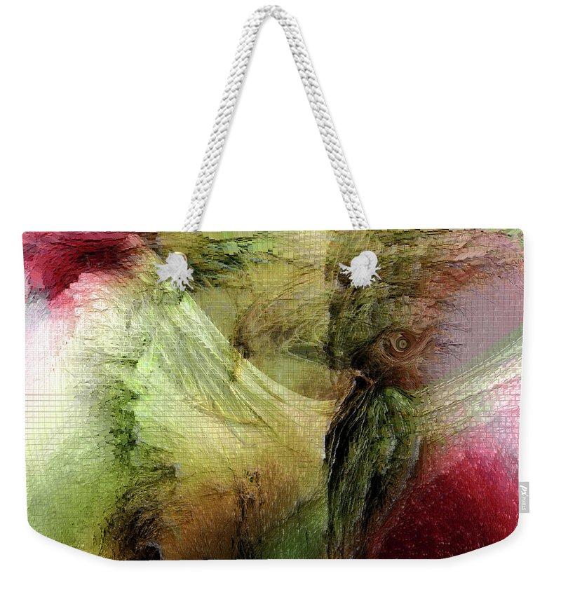 Freedom Art Weekender Tote Bag featuring the digital art Freedom by Linda Sannuti