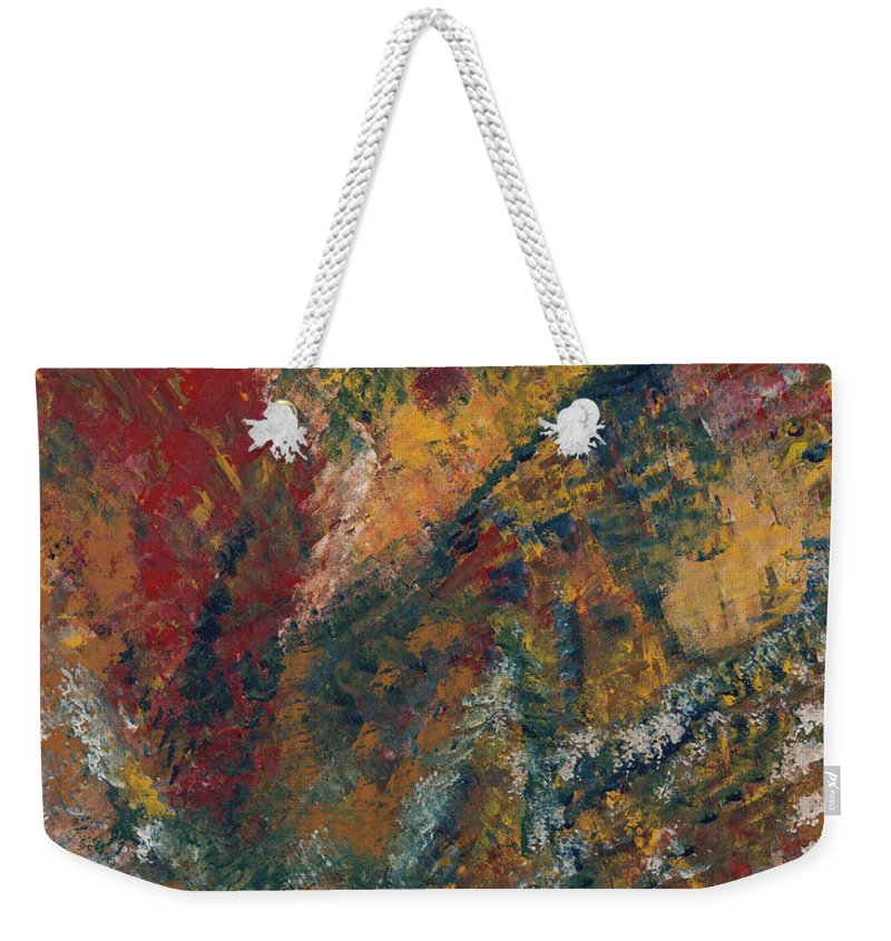 Freedom Weekender Tote Bag featuring the painting Freedom by Sandie DeConda