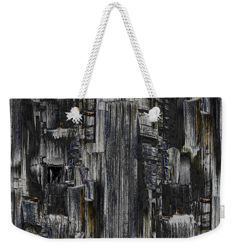 Seattle Weekender Tote Bag featuring the photograph Freeway Park 2 by Tim Allen