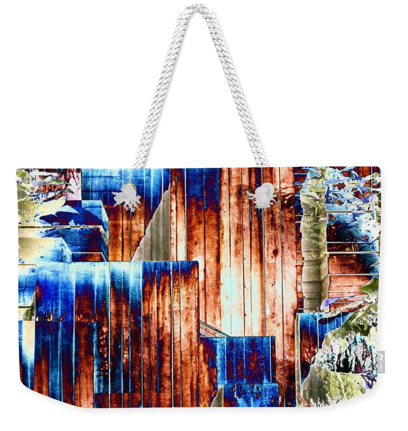 Seattle Weekender Tote Bag featuring the photograph Freeway Park 5 by Tim Allen