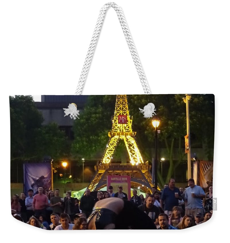French Weekender Tote Bag featuring the photograph French Connection by Red Cross