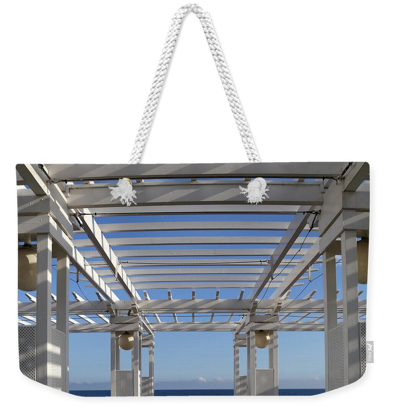Nice Weekender Tote Bag featuring the photograph French Riviera 1 by Andrew Fare