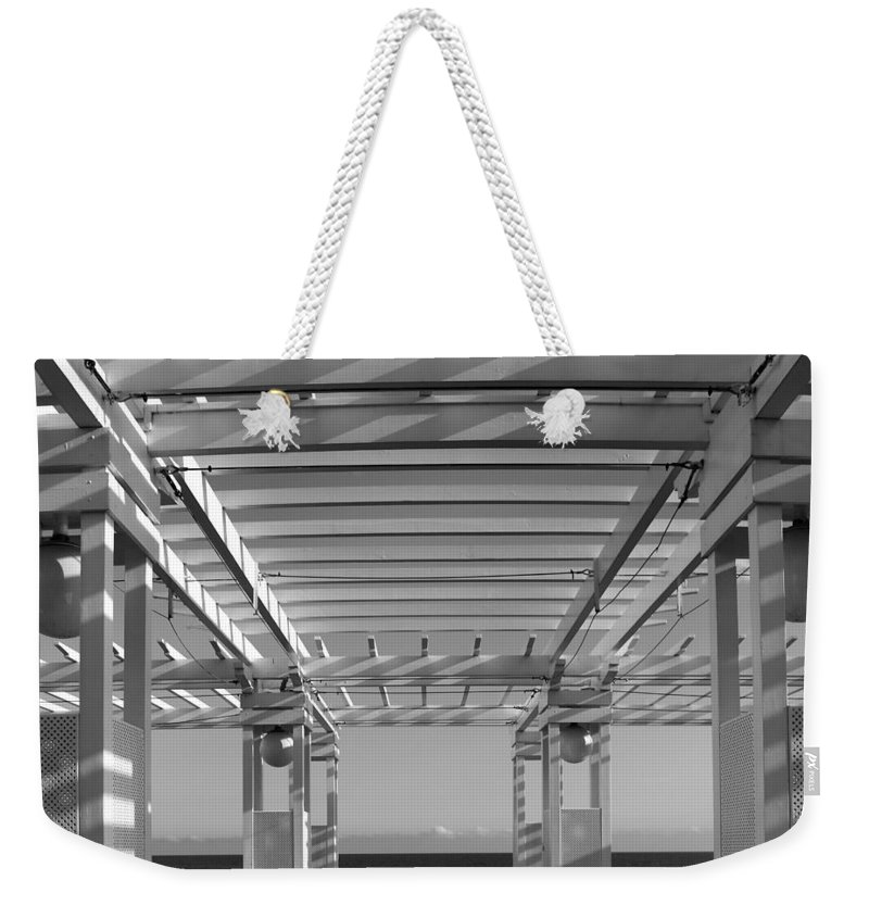 Nice Weekender Tote Bag featuring the photograph French Riviera 1b by Andrew Fare