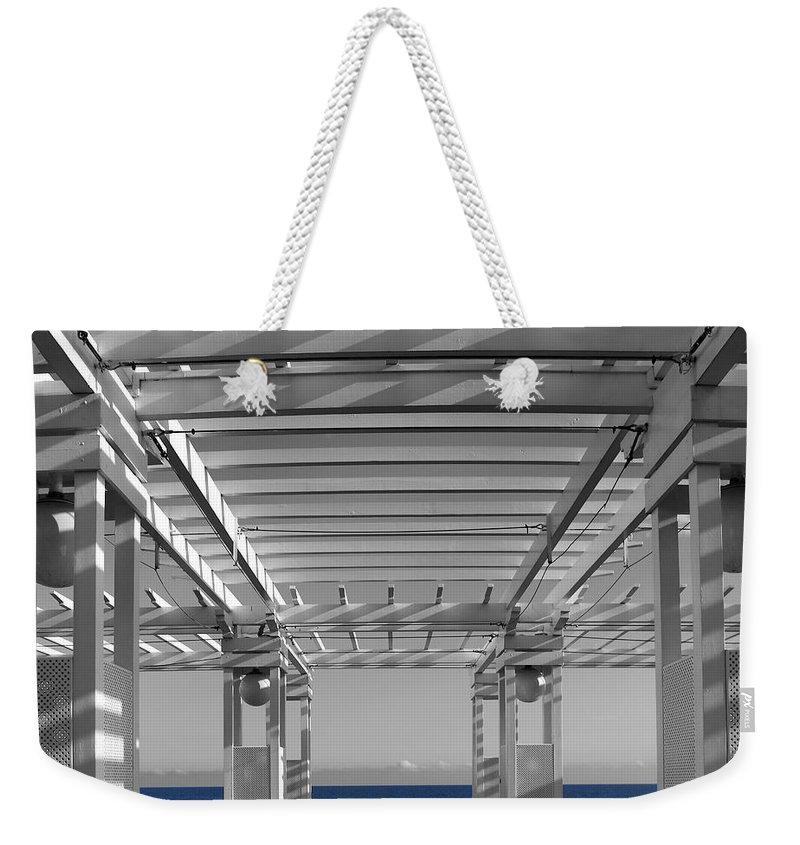Nice Weekender Tote Bag featuring the photograph French Riviera 1c by Andrew Fare