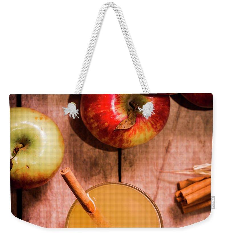 Smoothie Weekender Tote Bags