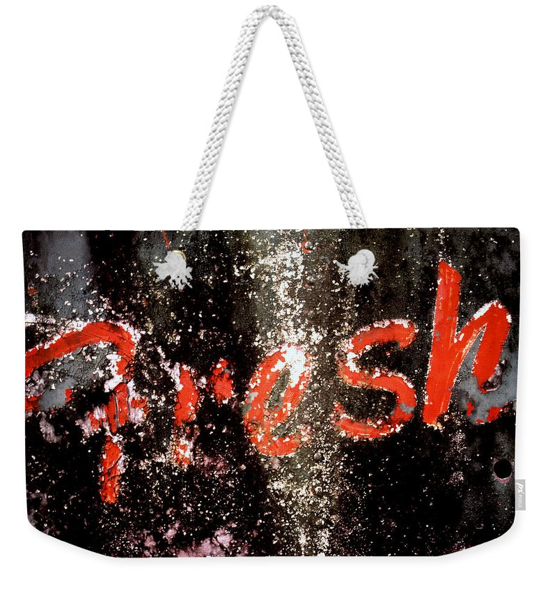 Fresh Weekender Tote Bag featuring the photograph Fresh by Herman Robert