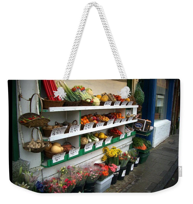 Shaftesbury Weekender Tote Bag featuring the photograph Fresh Produce by Tim Nyberg