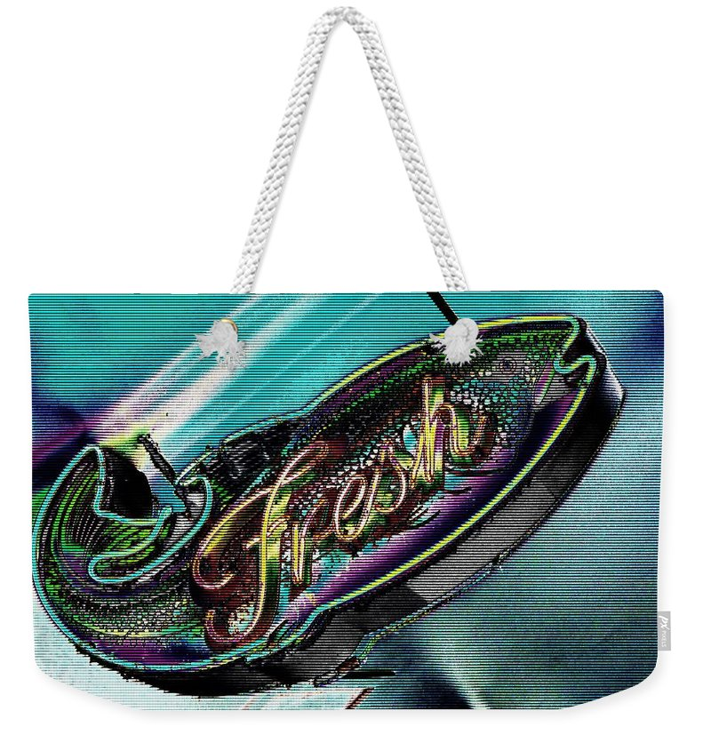 Fresh Weekender Tote Bag featuring the photograph Fresh by Tim Allen