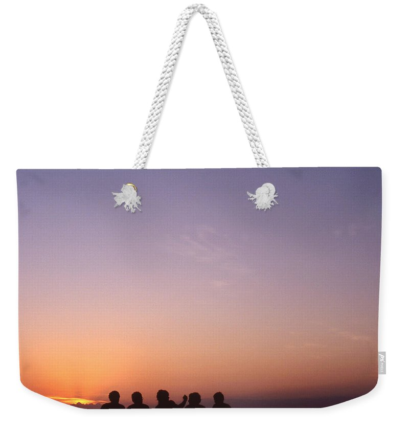 Bahia Weekender Tote Bag featuring the photograph Friends by Patrick Klauss
