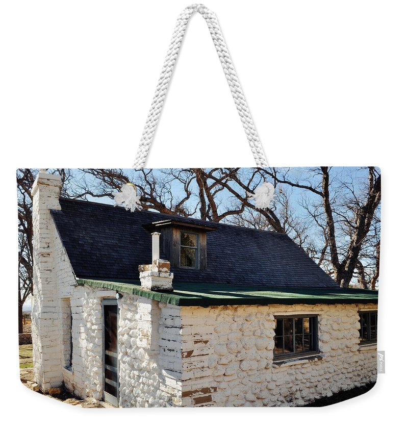 Guadalupe Mountains National Park Weekender Tote Bag featuring the photograph Frijole Ranch Guadalupe Mountains National Park by Kyle Hanson