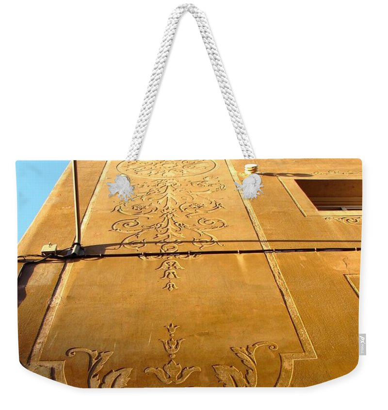 Barcelona Weekender Tote Bag featuring the photograph From Barcelona 1 by Ana Maria Edulescu