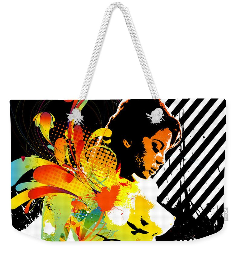 Nostalgic Seduction Weekender Tote Bag featuring the digital art From Within by Chris Andruskiewicz