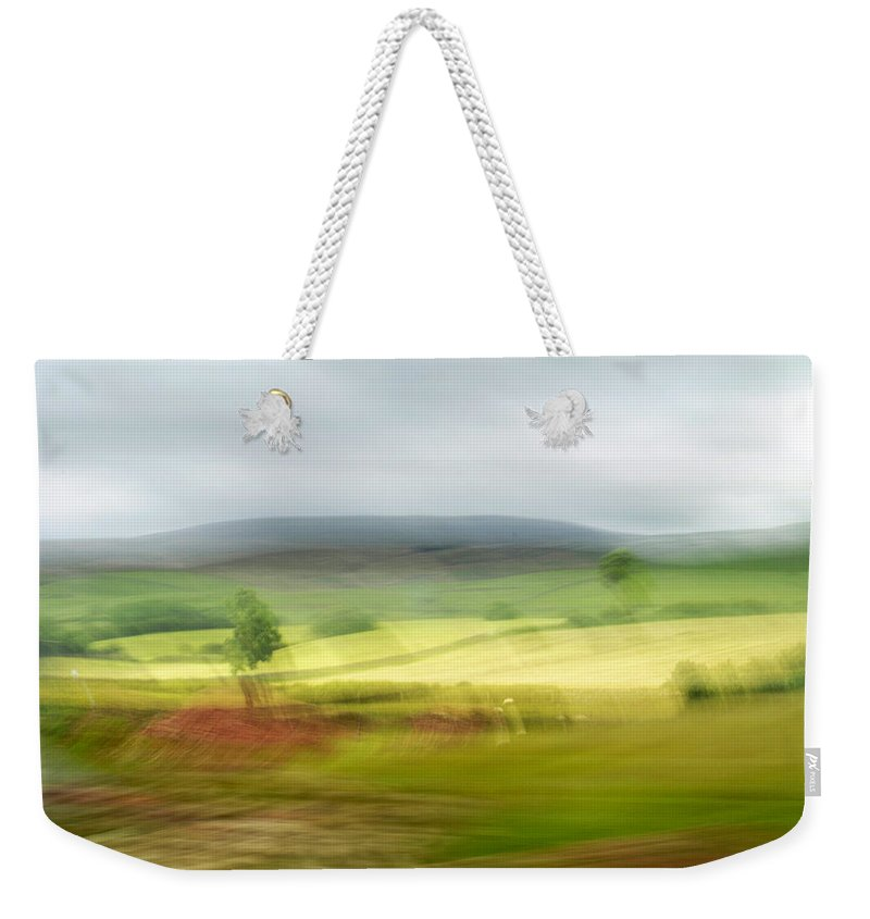 Nature Weekender Tote Bag featuring the photograph from Yorkshire to Lake District 1 by Dubi Roman