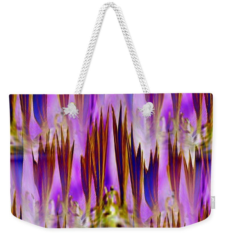 Fronds Weekender Tote Bag featuring the photograph Frond Memories by Tim Allen