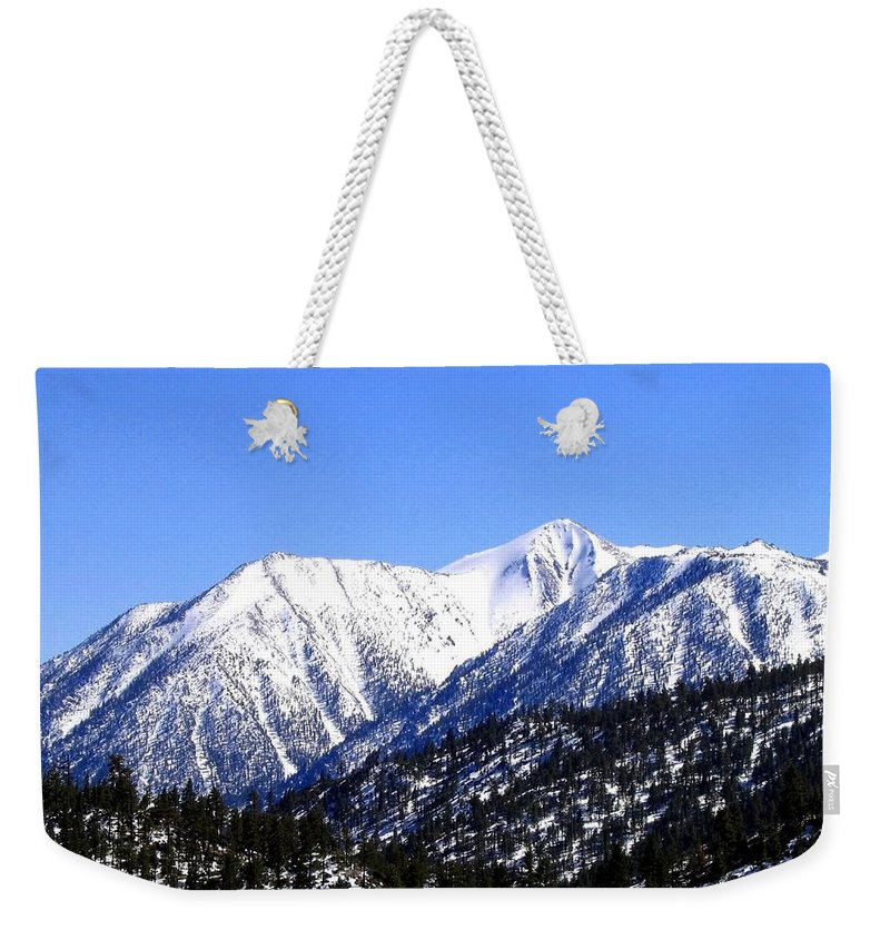 Mountain Weekender Tote Bag featuring the photograph Frontier Splendor by Will Borden