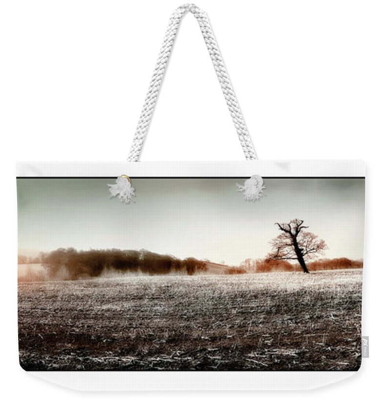 Landscape Weekender Tote Bag featuring the photograph Frosty Landscape by Mal Bray