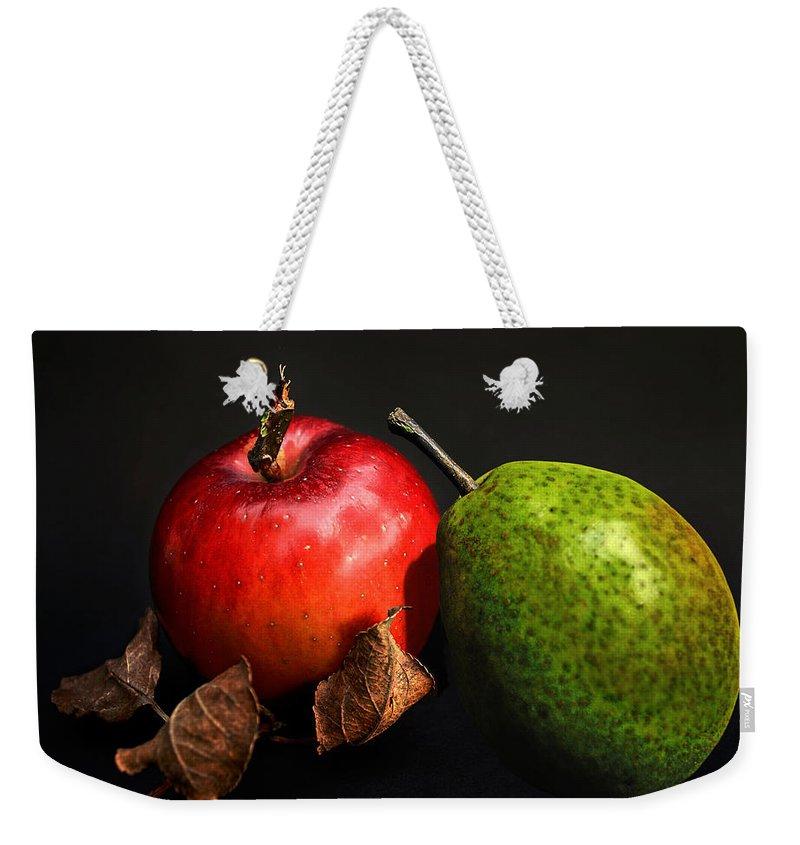 Fruit Weekender Tote Bag featuring the photograph Fruit Coalition by Joachim G Pinkawa