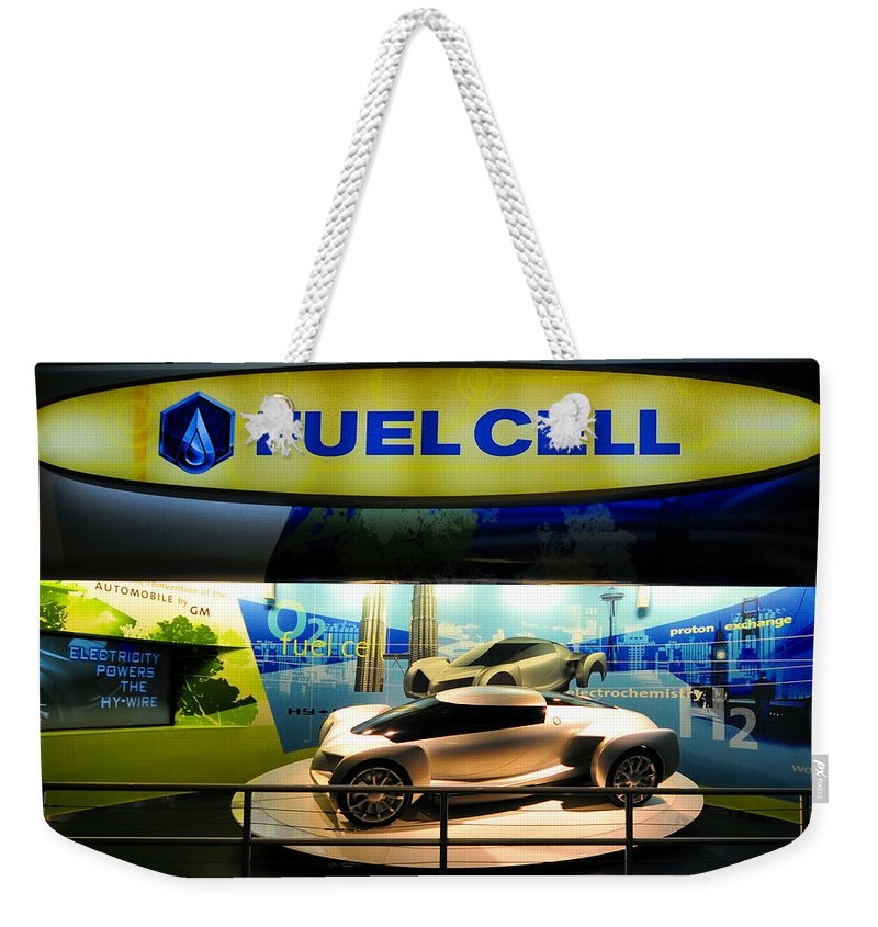 Fuel Cell Technology Weekender Tote Bag featuring the photograph Fuel Cell Tech by David Lee Thompson