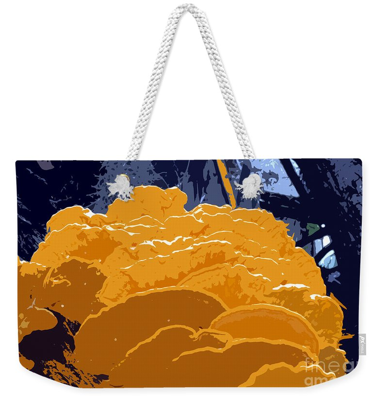Fungi Weekender Tote Bag featuring the photograph Fungi Work Number 4 by David Lee Thompson