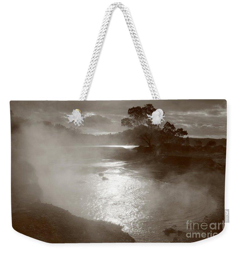 Furnas Weekender Tote Bag featuring the photograph Furnas Hotsprings by Gaspar Avila