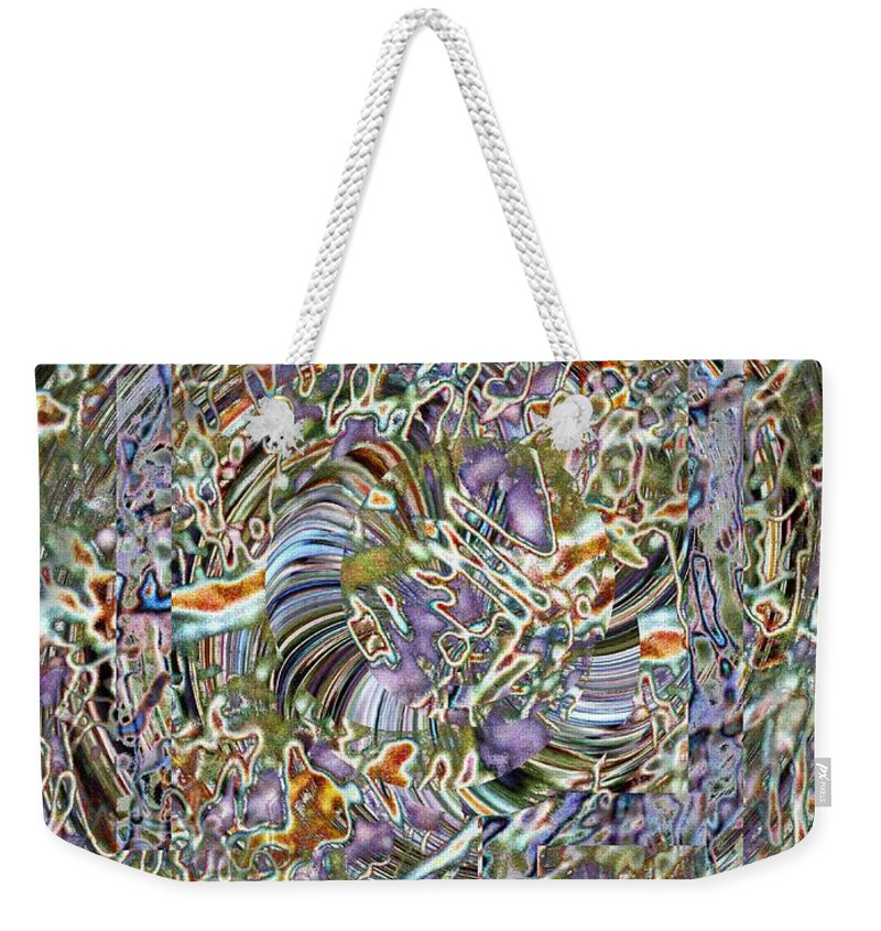 Fused Weekender Tote Bag featuring the photograph Fused by Tim Allen