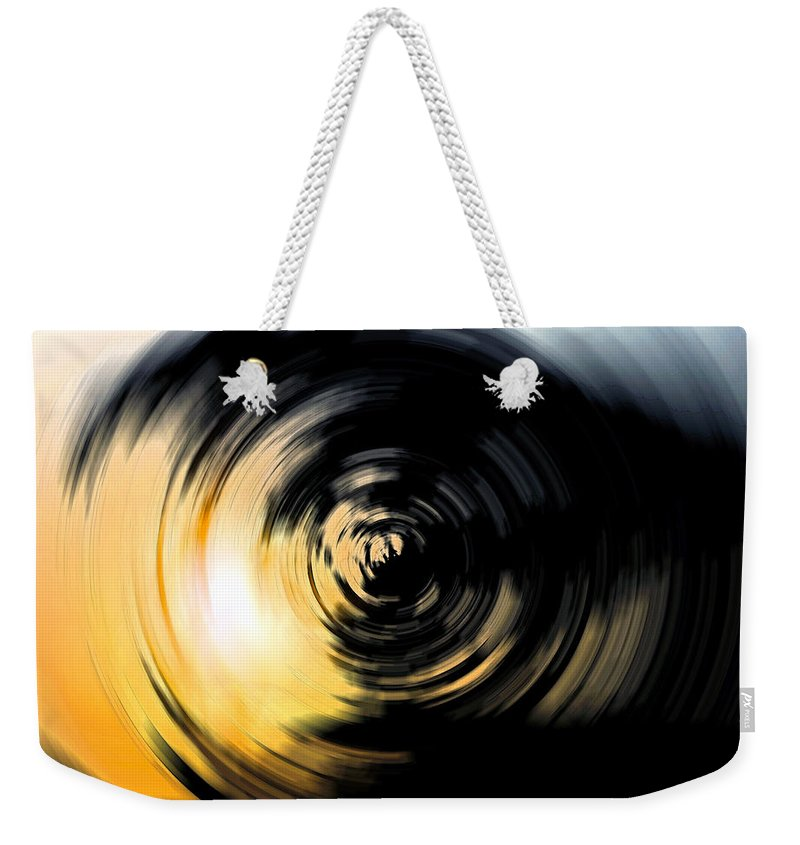 Abstract Weekender Tote Bag featuring the digital art Futility II by Stacey May