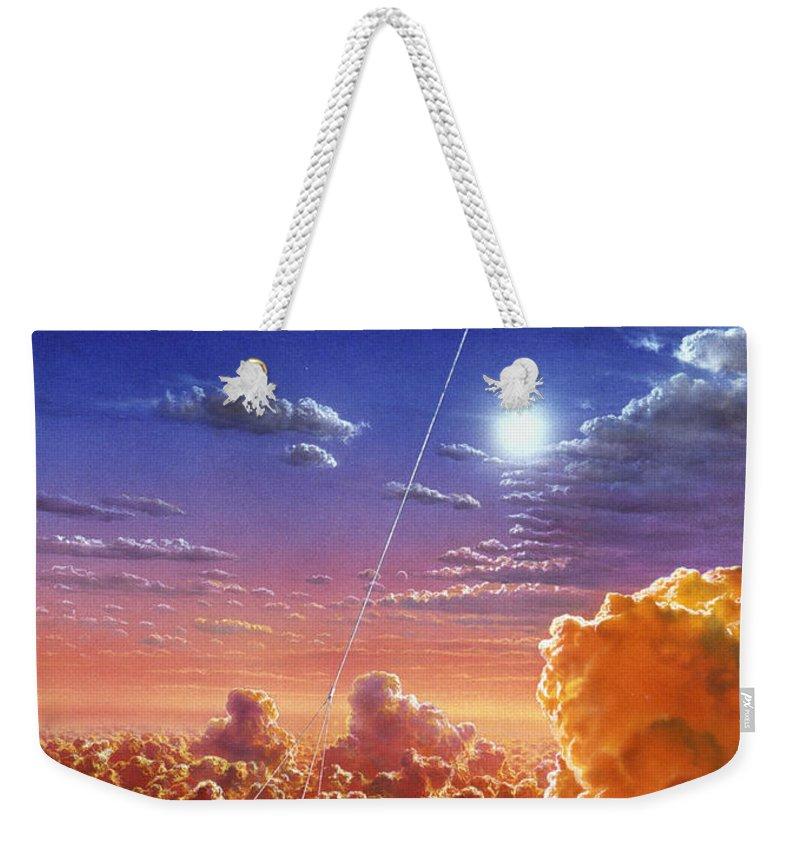 Spaceflight Drawings Weekender Tote Bags