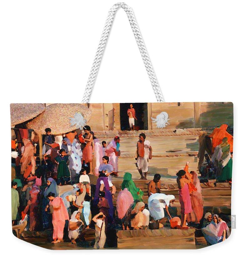 Ganges River Weekender Tote Bag featuring the photograph Ganges by Kurt Van Wagner
