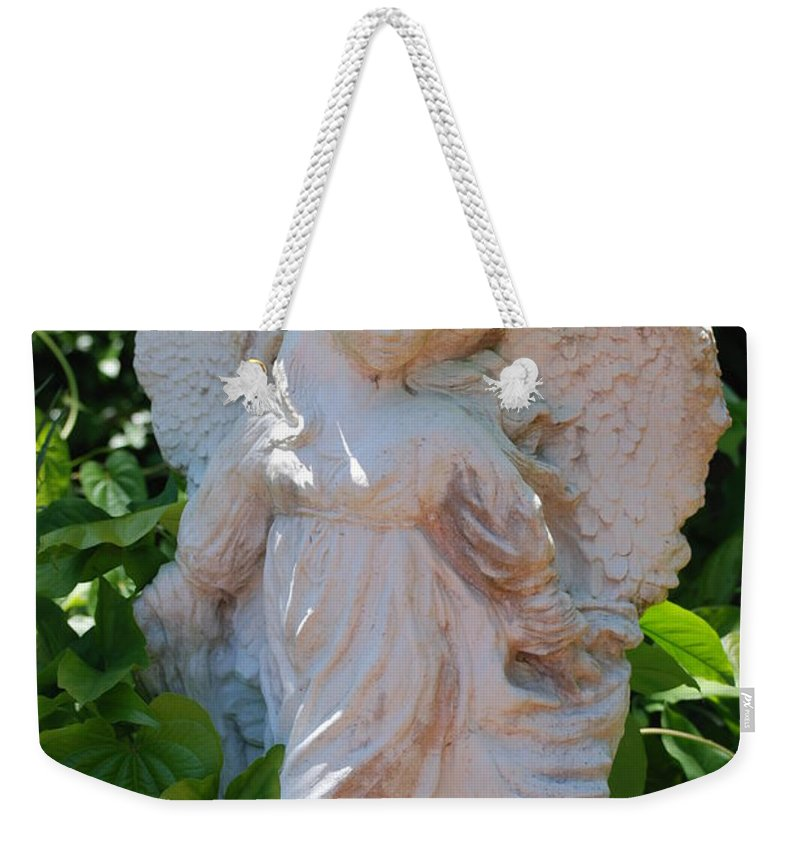 Angels Weekender Tote Bag featuring the photograph Garden Angel by Rob Hans