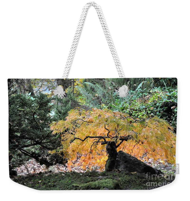 Fall Weekender Tote Bag featuring the photograph Garden Tapestry by Tanya Searcy