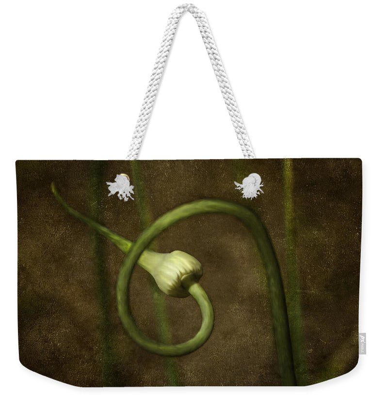 3d Weekender Tote Bag featuring the photograph Garlic by Svetlana Sewell