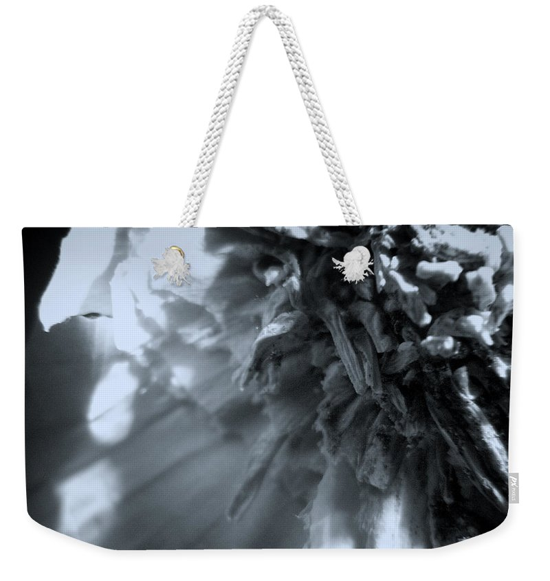 Garlic Weekender Tote Bag featuring the photograph Garlic-up Close And Personal by Scott Wyatt