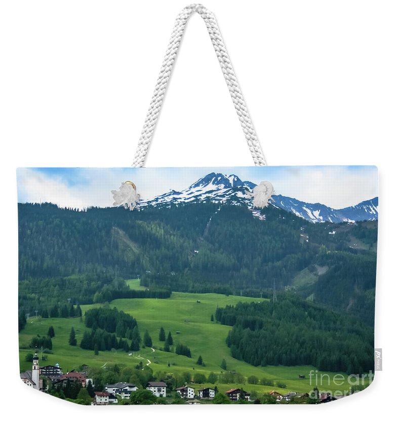Garmisch-partenkirchen Weekender Tote Bag featuring the photograph Garmisch-partenkirchen Germany by Amy Sorvillo