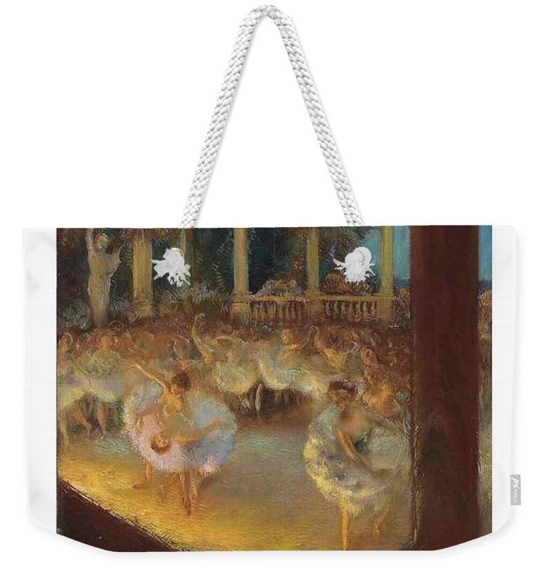 Nature Weekender Tote Bag featuring the painting Gaston La Touche French 1854 1913 Le Ballet by Gaston La Touche French