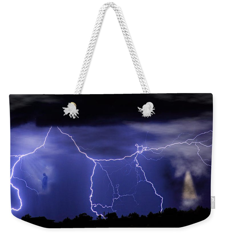 Religious Weekender Tote Bag featuring the photograph Gates To Heaven by James BO Insogna