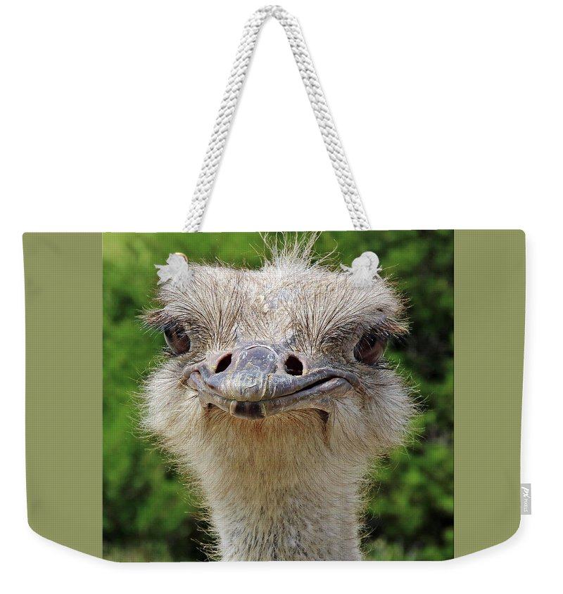 Australian Weekender Tote Bag featuring the photograph G'day Mate by Rebecca Morgan