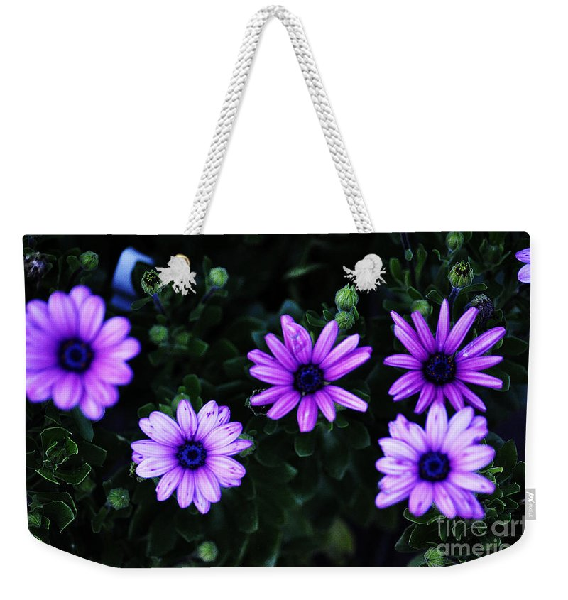 Clay Weekender Tote Bag featuring the photograph Gears by Clayton Bruster