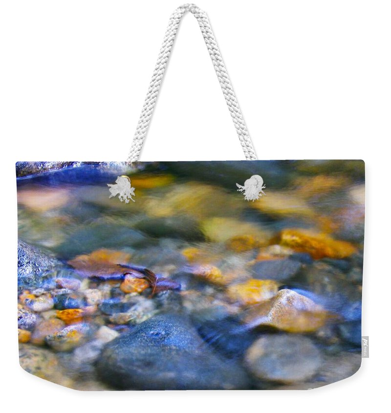 Ripples Weekender Tote Bag featuring the photograph Gentle Ripples by Sharon Talson