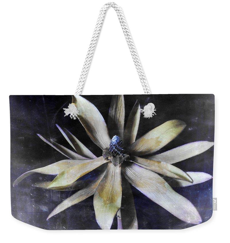 Flora Weekender Tote Bag featuring the photograph Genus Protea by Wayne Sherriff