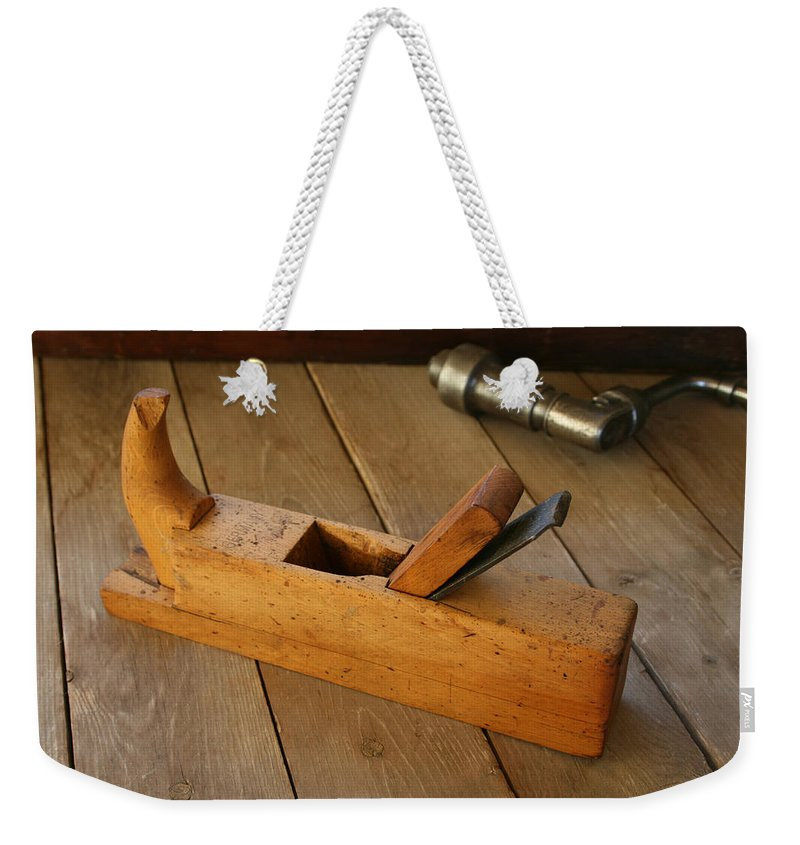 Tool Weekender Tote Bag featuring the photograph German Plane by Marna Edwards Flavell