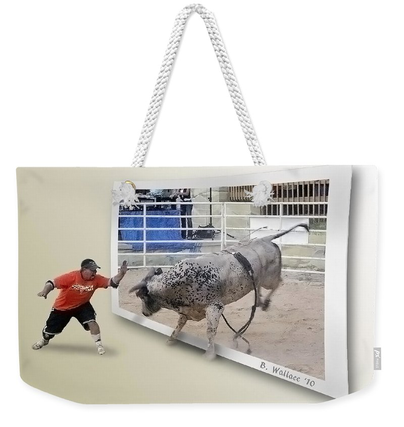 2d Weekender Tote Bag featuring the photograph Get Back by Brian Wallace