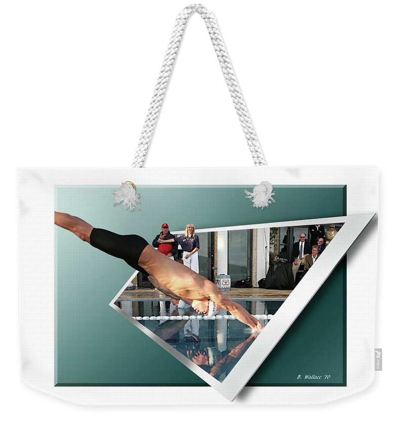 2d Weekender Tote Bag featuring the photograph Get Ready Get Set by Brian Wallace