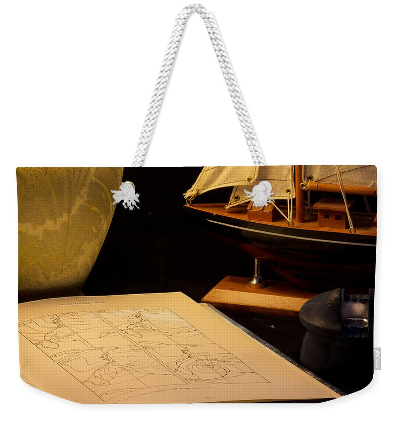 Nautical Weekender Tote Bag featuring the photograph Getting Ready by Brian Roscorla