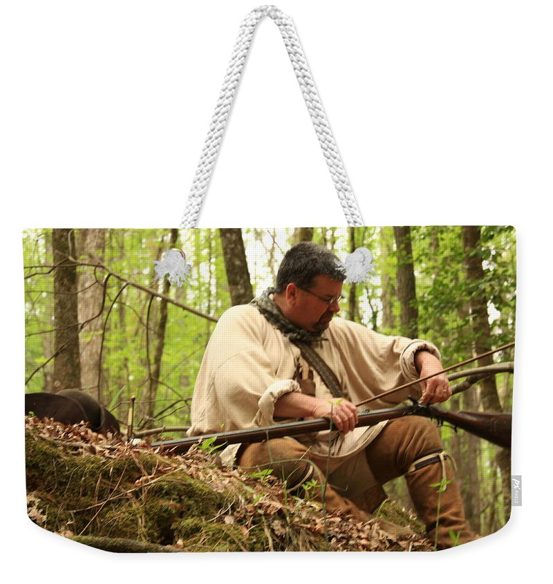 Weekender Tote Bag featuring the photograph Getting Ready by Kim Henderson