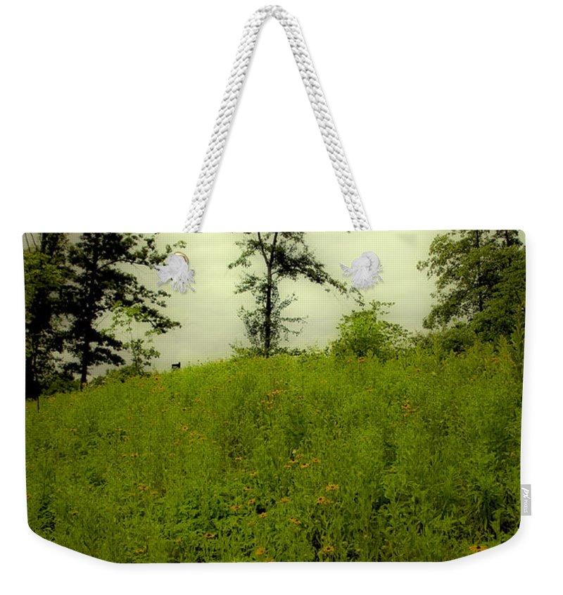 Landscape Weekender Tote Bag featuring the photograph Gettysburg Landscape by Madeline Ellis