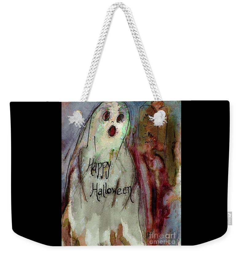 Ghost Weekender Tote Bag featuring the photograph Ghost 1 by Claire Bull