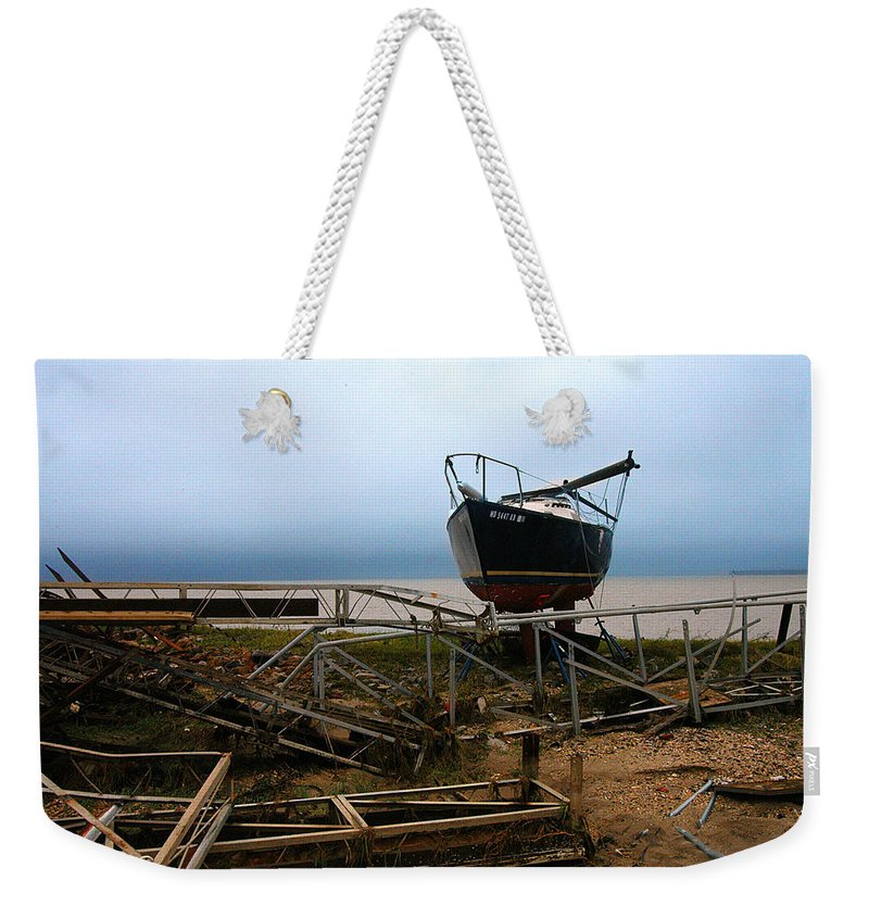 Clay Weekender Tote Bag featuring the photograph Ghost by Clayton Bruster