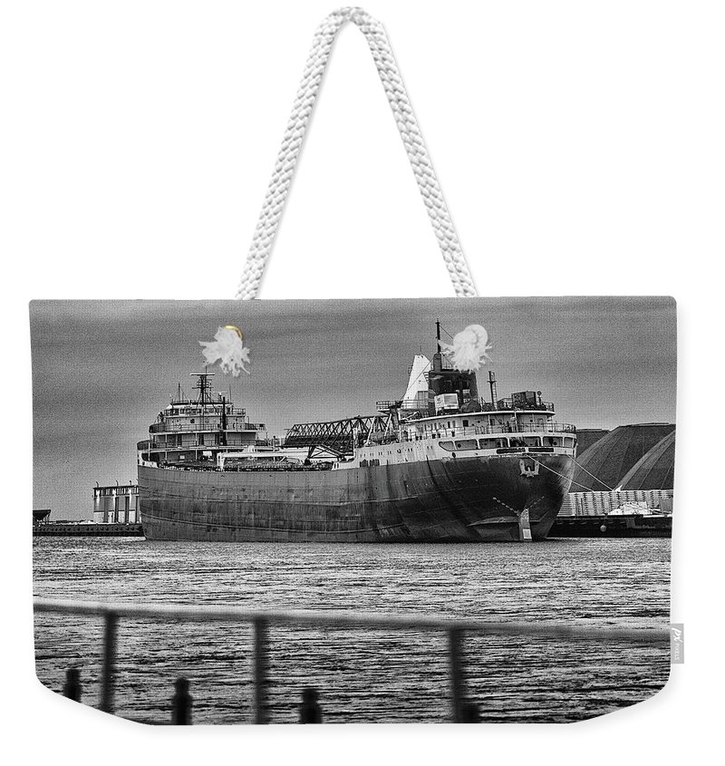 American Weekender Tote Bag featuring the photograph Ghost Of American Fortitude by Everet Regal
